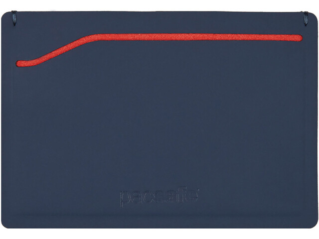 Pacsafe RFIDsafe TEC Sleeve Wallet Navy/Red